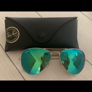 Women's Ray-Ban Mirror Sunglasses